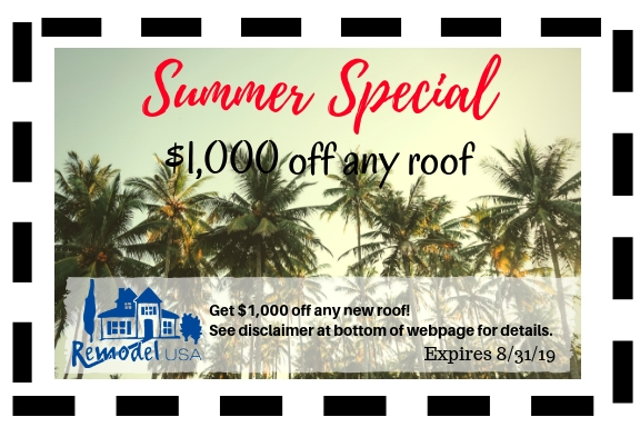 Summer Special Roof Aug 2019